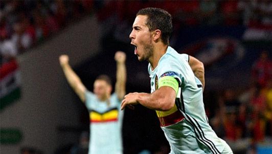 Dream Team vòng 1/8: Hazard rực rỡ, vắng CR7-Bale
