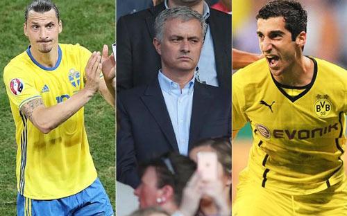 Tuần này, MU đón bộ đôi Ibrahimovic và Mkhitaryan