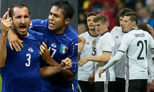 """Tứ kết Euro 2016: """"Chung kết sớm"""" kinh điển Đức-Italia"""