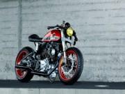 Thế giới xe - Yamaha TR1 Cafe Racer Roland đậm chất ngầu