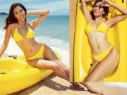 """Thời trang - Nguyễn Thị Loan khoe """"hông quả táo"""" cực sexy trước biển"""