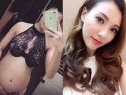 Phim - Hồng Quế mặc nội y khoe bụng bầu 6 tháng