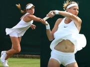 Thời trang - Tay vợt nữ lại gặp rắc rối với váy ngắn ở Wimbledon