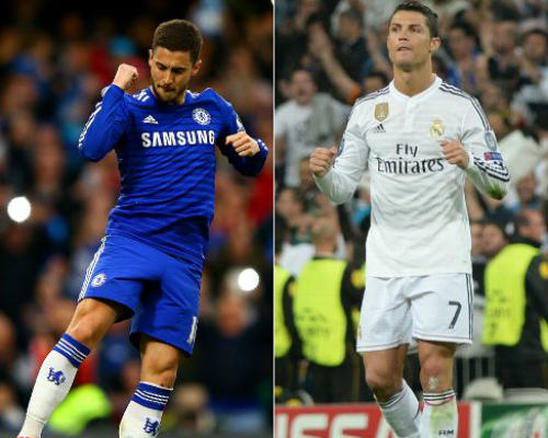 """Nếu Hazard tới Real: """"Địch thủ"""" hay """"trợ thủ"""" của Ronaldo - 2"""