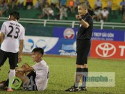 Vua áo đen Nguyễn Trọng Thư tiếp tục  mất tích  ở vòng 11 V-League