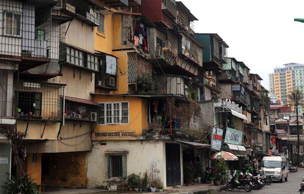 """Hà Nội cải tạo 3 khu chung cư cũ trên """"đất vàng"""" thế nào? - 1"""