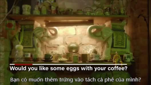 Có gì bí mật trong tách cà phê trứng Hà Nội vừa lên sóng CNN?