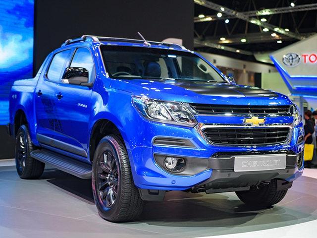 Chevrolet Colorado High Country Storm giá từ 680 triệu đồng
