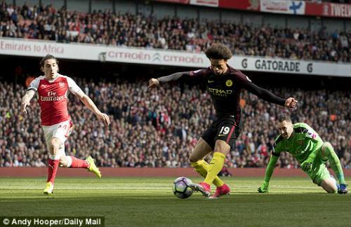 Arsenal - man city: mãn nhãn đại tiệc bàn thắng - 1