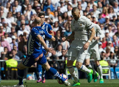 Real Madrid - Alaves: Những phút cuối rực rỡ - 1