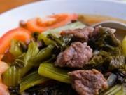 Ẩm thực - Bí quyết nấu gân bò hầm dưa chua chuẩn vị thơm ngon