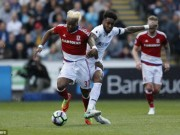Chi tiết Swansea - Middlesbrough: Chốt chặn quá an toàn (KT)