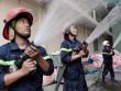 Cảnh sát PCCC và Công an Cần Thơ căng mình  hậu  cháy