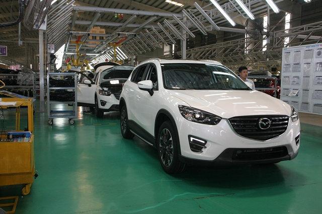Việt Nam sẽ thành trung tâm xuất khẩu xe Mazda