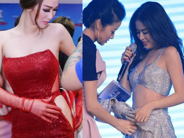 Tiên Tiên suýt gặp sự cố với chiếc quần trước 5.000 khán giả - 16