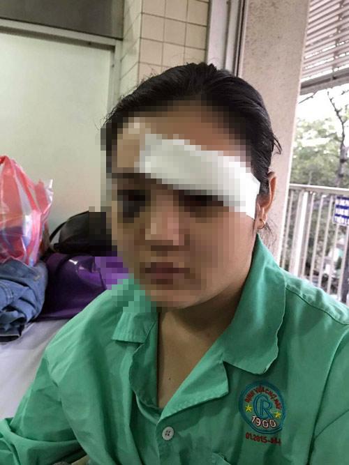 Cô gái ở Sài Gòn bị giang hồ cắt tai gây rúng động
