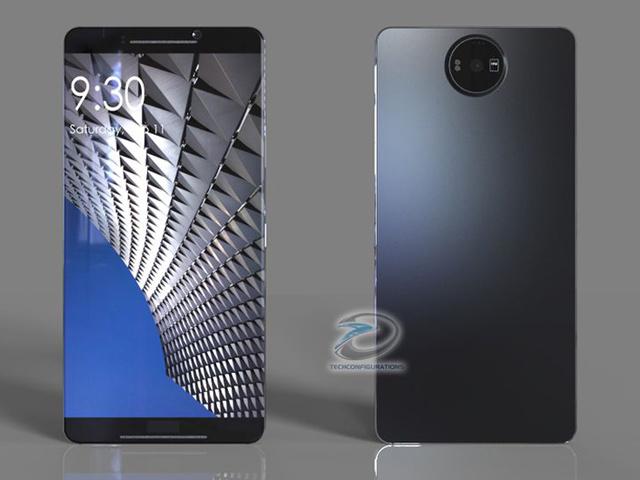 Nokia 8 concept không viền màn hình cực đẹp