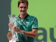 Thể thao - Tennis 24/7: Vô địch Miami Open, Federer có kỉ lục mới