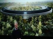 """Công nghệ thông tin - Ảnh: Nhìn lại lịch sử xây dựng """"trụ sở phi thuyền"""" của Apple"""