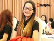 """Thể thao - Hot girl cờ vua Võ Thị Kim Phụng """"bay"""" chóng mặt"""