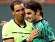 """BXH tennis 3/4: Federer và Nadal  """" bay cao bay xa """""""