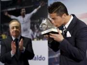 """Bóng đá - Real: Ronaldo """"chiến tranh lạnh"""" với chủ tịch Perez, """"thả thính"""" MU"""