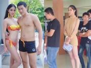 Thời trang - Hết hồn hoa hậu chuyển giới Thái mặc mỏng đi khám nghĩa vụ