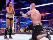"""Mỹ nhân sàn võ  """" ngã vào vòng tình ái """"  của John Cena"""