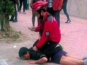 An ninh Xã hội - Gặp phải cao thủ kungfu, tên cướp bị lột quần giữa phố
