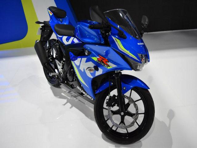 2017 Suzuki GSX-R150 giá 56 triệu đồng sắp về Việt Nam?
