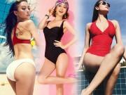 Thời trang - Trà Ngọc Hằng, Jennifer Phạm diện áo tắm sexy nhất hè năm ngoái