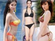 Thời trang - Bộ 3 chuyển giới hot nhất Thái Lan đọ sắc bikini nảy lửa