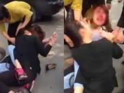 Tin tức trong ngày - Hai cô gái ẩu đả sau va chạm giao thông nóng nhất mạng xã hội