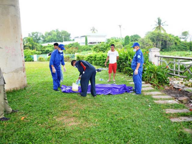 Đi câu cá, tá hỏa phát hiện xác người dưới sông Sài Gòn