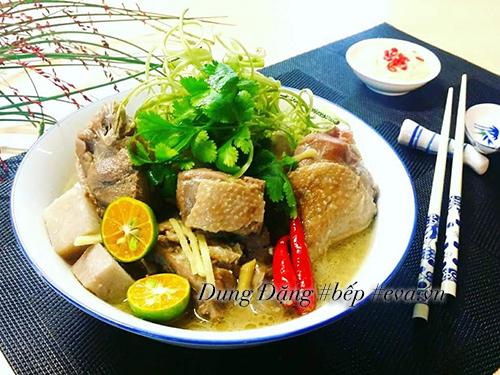 Lẩu vịt nấu chao tuyệt ngon cho ngày nghỉ lễ - 14
