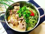 Ẩm thực - Lẩu vịt nấu chao tuyệt ngon cho ngày nghỉ lễ