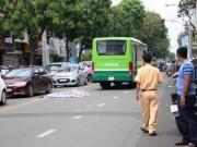Tin tức trong ngày - Bất ngờ ngã xe máy, người phụ nữ bị xe buýt cán chết