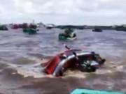 Tin nóng: Lật tàu ở biển Gành Hào, nhiều người chết và bị thương