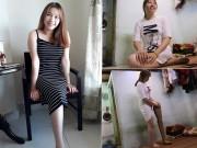 Bạn trẻ - Cuộc sống - Sự thật về cô gái xinh đẹp mất một chân gây xôn xao