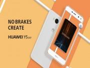 """Thời trang Hi-tech - Huawei Y5 2017 """"lặng lẽ"""" trình làng"""
