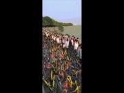 Thế giới - Vạn xe đạp chen nhau không lối thoát ở Trung Quốc