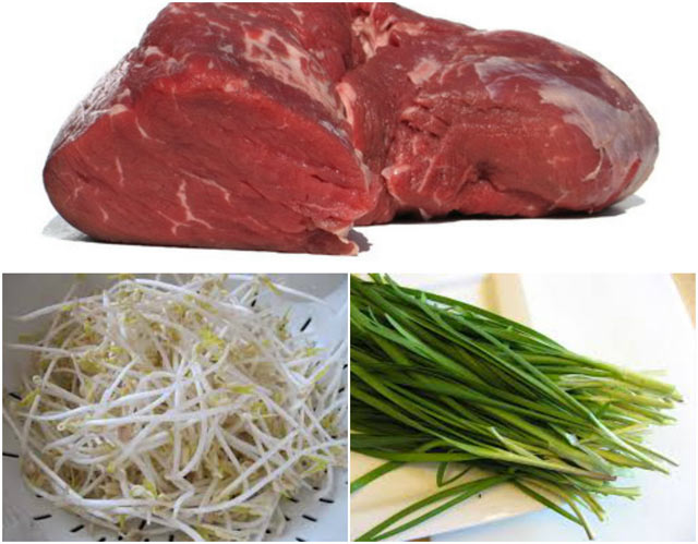 Cách làm thịt bò xào giá hẹ, mùi thơm bay cả sang nhà hàng xóm - 1