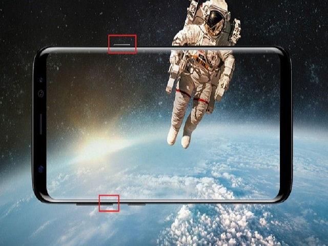 Cách chụp ảnh màn hình trên Samsung Galaxy S8 và S8+