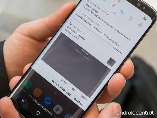 Cách chụp ảnh màn hình trên Samsung Galaxy S8 và S8+ - 1