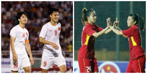 """""""Hot girl"""" ĐT nữ Việt Nam 19 bàn/2 trận: Công Phượng có theo kịp?"""