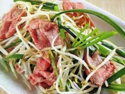 Ẩm thực - Cách làm thịt bò xào giá hẹ, mùi thơm bay cả sang nhà hàng xóm
