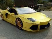 """"""" Choáng """"  khi phát hiện Lamborghini Aventador làm từ... giấy"""