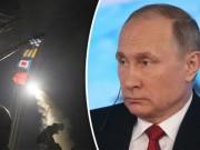Putin nổi giận, nói Mỹ  gây hấn  khi nã tên lửa vào Syria