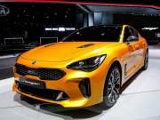 Kia Stinger: Sedan thể thao đầy hứa hẹn