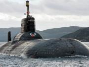"""Thế giới - Nga điều tàu ngầm to nhất thế giới ra """"bể bơi của NATO"""""""
